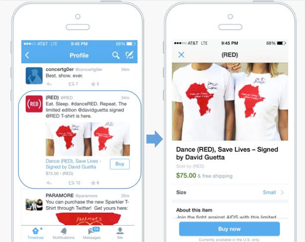 twitter buy now button