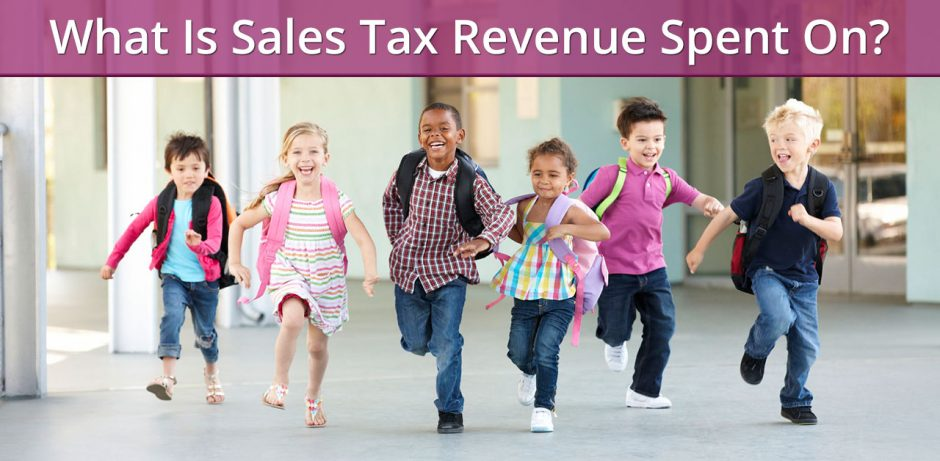 What Is Sales Tax Revenue Spent On?