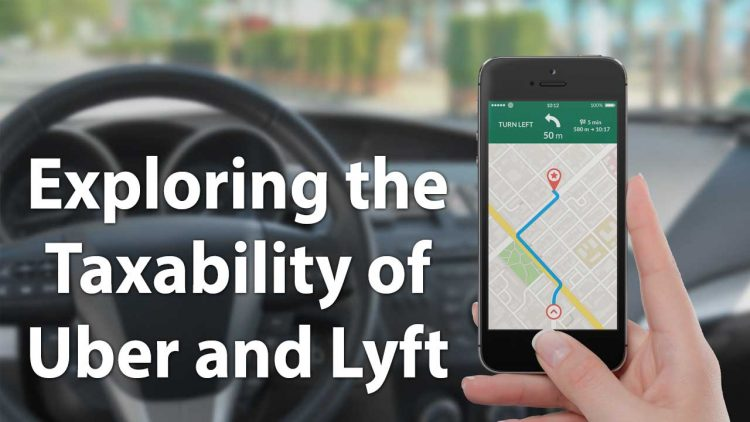 taxing uber and lyft services