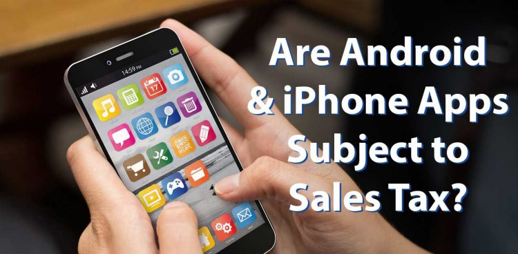 phone apps sales tax