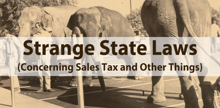 strange state laws